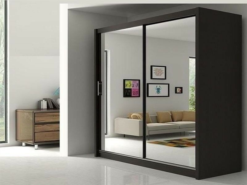 Same Day Cash On Delivery New 2 Door Sliding Berlin Wardrobe In New