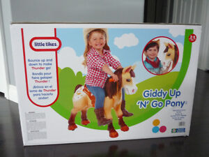 LITTLE TYKES GIDDY UP 'N' GO
