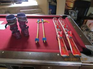 ensemble de ski alpin junior