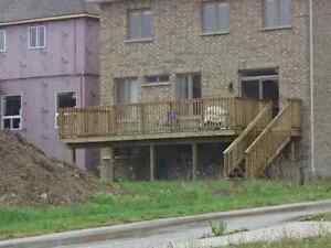 Fences and Decks installation, repairs and post setting Kitchener / Waterloo Kitchener Area image 2