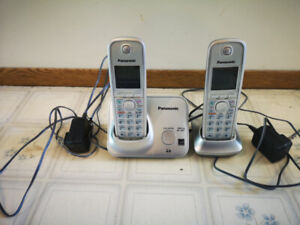 Panasonic cordless phone set!