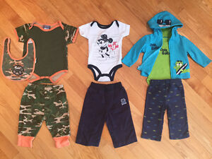 6-9 month boys clothing 48 items