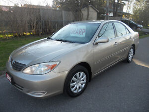 2002 Toyota Camry Sedan 4cyl. loaded 2795