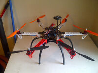 F550 hexacopter RTF with lots of extras