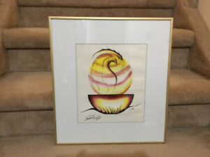 BEAUTIFUL NATIVE ART BY SAMUEL TANGIE '96 SIGNED BY ARTIST