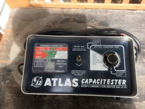 VINTAGE ATLAS CAPACITESTER BATTERY AND CHARGING SYSTEM ANALYZER