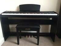 Chase P-45 Electric piano and accessories