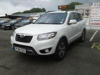 2012/61 Hyundai Santa Fe PREMUIM 2.2CRDI MET WHITE IMMACULATE CONDITION