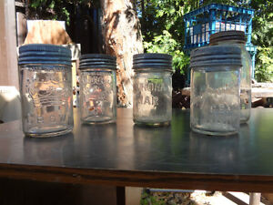 Several Glass Mason Jars - only about 10 small left!
