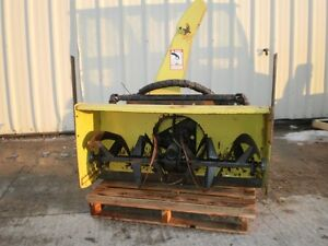 John Deere 2 stage snowblower