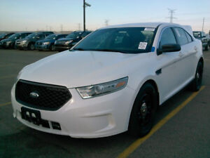 2013 Ford POLICE INTERCEPTOR Taurus Sedan AWD BACKUP CAM