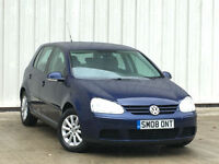 Volkswagen Golf 1.9TDI ( 105PS ) 2008MY Match FINANCE AVAILABLE