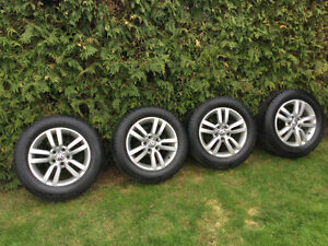 4 pneus hiver North Frost Gislaved plus 4 mags 16""
