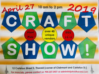 Spring Craft Show - Vendors Wanted