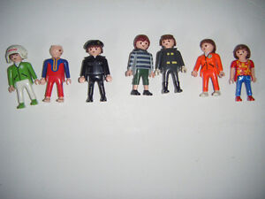 7 Playmobil figures for sale