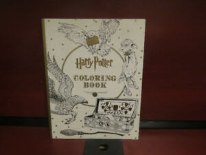 Harry Potter Coloring Book Paperback