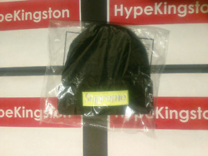 Supreme Box Logo Beanie Black