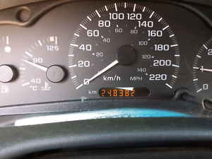 2001 Chevy Cavalier manual transmission
