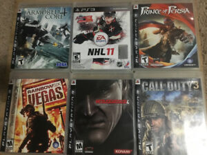 PlayStation 3 80GB System and Games
