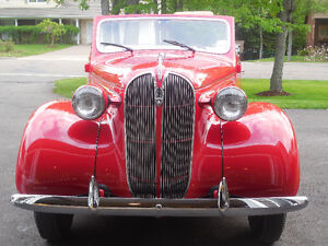 1937 Plymouth P4 Convertible Coupe
