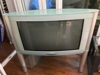 "Beautiful Retro Cool Green Philips 32"" Television"