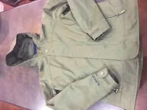 Green Burton ski jacket Women's XL