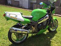 Kawasaki zx9r streetfighter