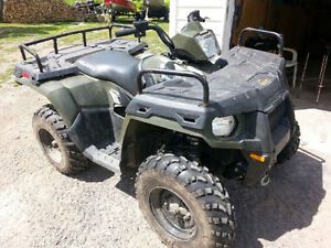 2013 sportsman 500 ho with trailer