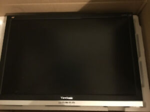 "ViewSonic 20"" Wide-Screen LCD Monitor, as is, no stand"