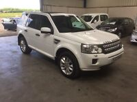 2011 11 Reg landrover freelander HSE sd4 auto sat nav pan roof leather CHEAPEAST in country