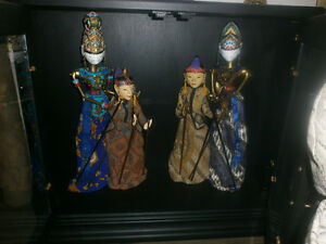 Indonesian Puppets. London Ontario image 1