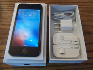 brand new never activated iphone 5s-16gb bell/ virgin