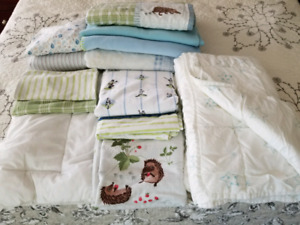 Bedding -baby crib  blankets and much more