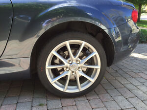 Mint 17 inch rims with Tires, off of a Mazda MX5 Showcar London Ontario image 1
