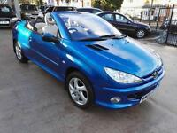 Peugeot 206 1.6 16v 2005MY Coupe Cabriolet Convertible Allure