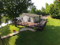 Home on Buck Lake with Boathouse
