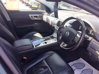 2009 Jaguar XF 3.0 TD V6 S Portfolio 4dr Diesel black Automatic