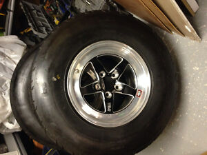 Weld racing RTS Forged rims and tires for Fords