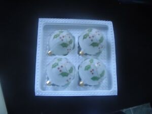 Ornaments - Vintage Delicate Hand-Decorated Glass in Orig. Box Kingston Kingston Area image 2