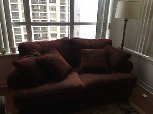 2 Seat very comfy couch