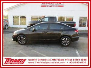 2014 HONDA CIVIC EX  MANUAL TRANSMISSION $99.85 B/W OAC