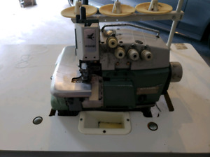 Pegasus merrow sewing machine with table