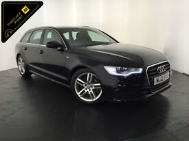 2012 AUDI A6 S LINE TDI DIESEL ESTATE 175 BHP SERVICE HISTORY FINANCE PX WELCOME