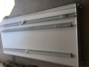 wardrobe sliding doors, with accessories, 3 sets available