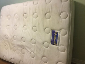 queen pillowtop mattress and boxspring free delivery