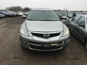 2009 SILVER MAZDA CX 9 7 SEATER ALL WHEEL DRIVE