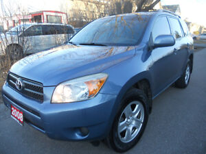 2008 Toyota RAV4 SUV  4 cyl. Loaded 4x4 7495