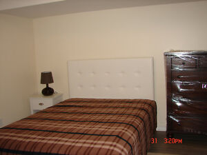 New 2 Bdrms Furnished  Bsmt Apartment York University @ Keele