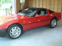1988 Corvette with very low klms