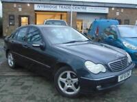 2001 51 MERCEDES-BENZ C CLASS 3.2 C320 AVANTGARDE 4D AUTO 218 BHP